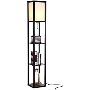 Adesso 3138 01 Wright 63 In Floor Lamp Smart Switch Compatible Light Fixtures With Two