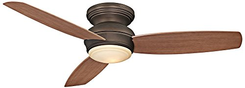 Minka-Aire F594L-ORB, Traditional Concept LED Bronze Flush Mount 52