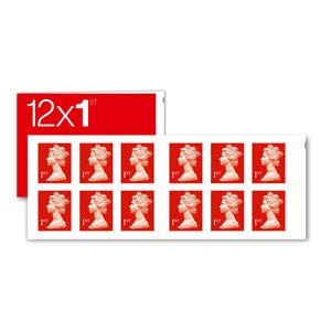 12 x 1st Class Standard Stamps Royal Mail Post Office
