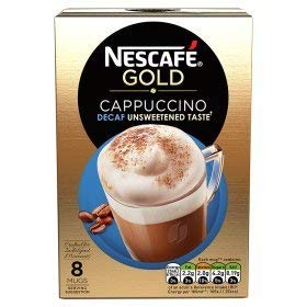 Nescafe Cappuccino Unsweetened and Decaffenated 2 Boxes