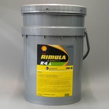 Shell 550035860 Rimula RT4 L 15W 40 Low Emissions Multi Diesel