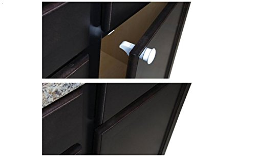 Magnetic Safety Drawer Locks for Baby, 4 Locks + 1 Key (Magnetic Spigot Key compare prices)