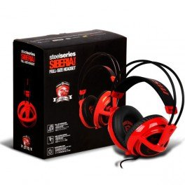 Steelseries Siberia V2 Full-size Red MSI Dragon Edition Headband Headsets (Msi Headset)