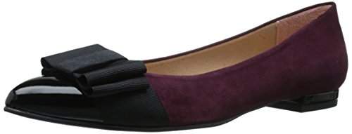 Wine NY Women's Sole Flat Black French FS Ballet Onstage 784BRx