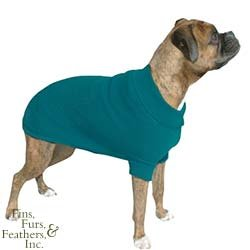 Vo-Toys Doggie Duds Traditional Sweater Teal, X-Large