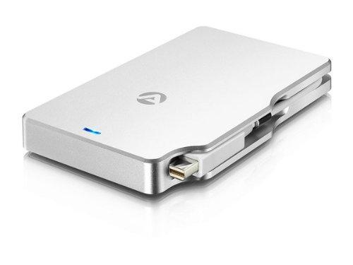 Palm Raid 512GB SSD (256GB SSD x 2 : Thunderbolt RAID) w/ Transfers Speed of 714Mb/s by Akitio
