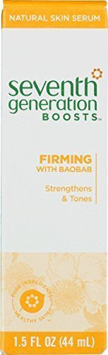 Seventh Generation Boost - Firming Skin Serum, 1.5 Ounce (PACK OF TWO)