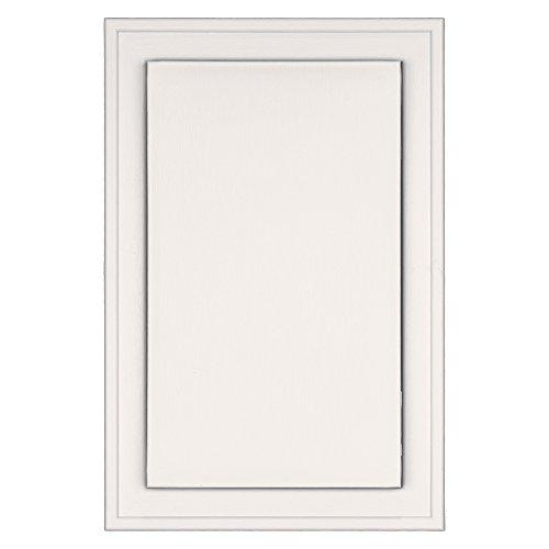 Builders Edge 130120001117 Mounting Block, Bright White