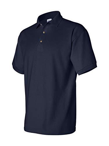 Gildan Mens Ultra Cotton Pique Polo Shirt (L) (Navy) -