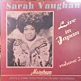 Sarah Vaughan Live in Japan Volume 2