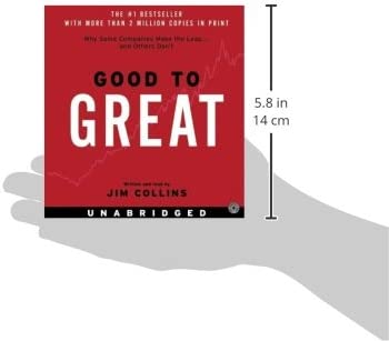 good to great cd why some companies make the leap and others dont