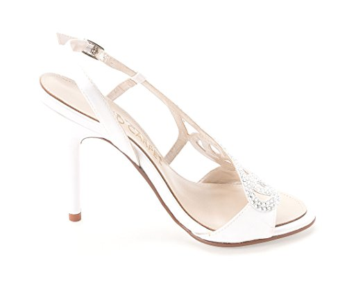 White Classic Satin Red Open The Yanni E Slingback From Carpet Live Pumps Toe Womens vqOUa7x