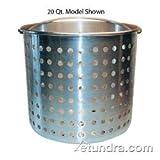 Winco Winware Aluminum Steamer Basket Only - Fits 20 Quart Stock Pot - 1 each.