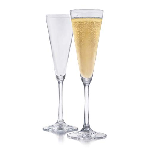 Libbey Vina Trumpet Champagne Glasses, Set of 6 ()