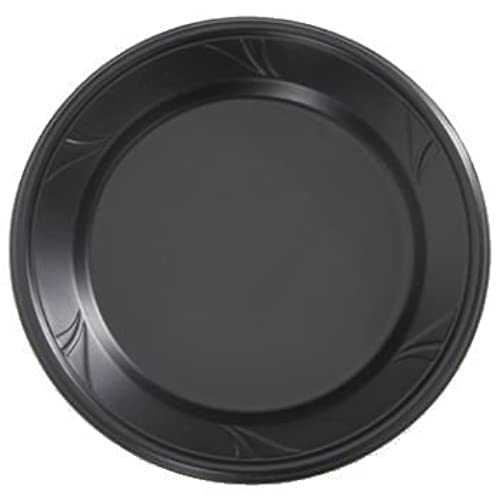 Finesse Black Microwaveable Plastic 10-inch Dinner Plates Made of Polyproplyene 100 Per Box  sc 1 st  Amazon.com & Polypropylene Microwave Safe Dinnerware: Amazon.com