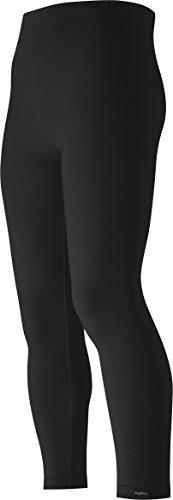 Playshoes Mädchen Legging verschiedene Farben, Oeko-Tex Standard 100, Gr. 116, Schwarz (schwarz 20)