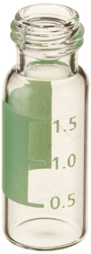 National Scientific 9mm Screw Thread Target DP Robo Vials, 2ml Capacity, 12mm I.D. x 32mm H (Case of 2000) by National Scientific
