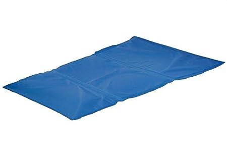 Perros Alfombrilla de refrigeración de frío (Azul Liegematte hundematte Matte Perros Colchón nevera techo azul – Refrigeración sin Frigorífico de