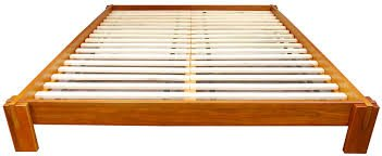 promo code d7b25 85674 Raku Japanese Style Tatami Platform Bed (Full, Honey Oak)