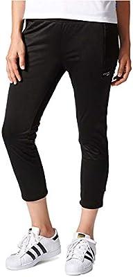 adidas Women's Originals EQT Cropped Cigarette Pants Black