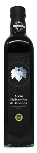Andrea Milano Silver Leaf IGP Balsamic Vinegar of Modena | Bottled in Italy (16.9 fl oz)
