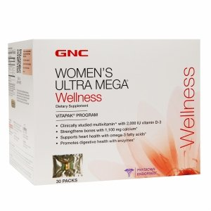 Amazon.com: GNC Womens Ultra Mega Wellness vitapak Programa ...