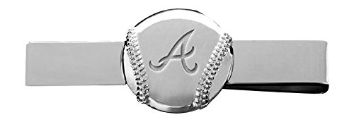 MLB Atlanta Braves Engraved Tie Bar
