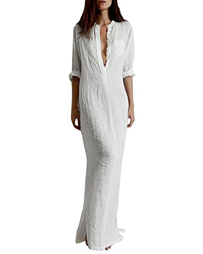 White summer dresses amazon