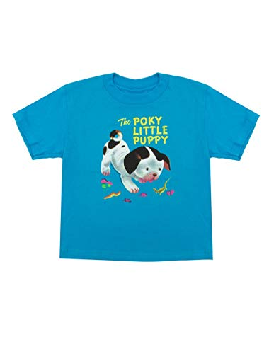 Out of Print Little Golden Books The Poky Little Puppy Kids Unisex T-Shirt 2-Year