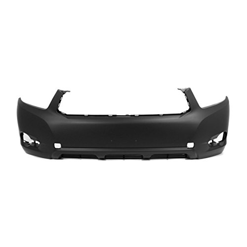 MBI AUTO – Painted To Match, Front Bumper Cover Fascia for 2008-2010 Toyota Highlander 08-10, TO1000338