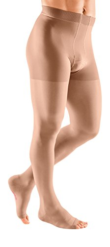 mediven plus, 30-40 mmHg, Men's Compression Leotard, Open Toe by mediven