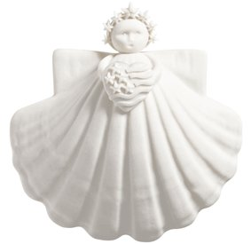 Margaret Furlong God Bless America Angel Ornament 3''