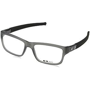Oakley Marshal OX8034-0653 Eyeglasses Grey Smoke Clear Demo 53 17