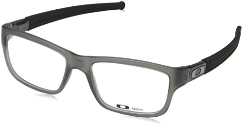 Oakley Marshal OX8034-0653 Eyeglasses Grey Smoke Clear Demo 53 17 by Oakley