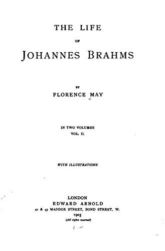 Amazon the life of johannes brahms vol ii ebook florence the life of johannes brahms vol ii by may florence fandeluxe Image collections