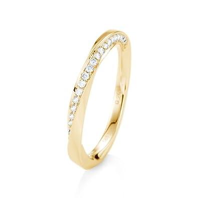 21diamonds Engagement Ring Lissy Gold Mit Diamant Amazon Co Uk