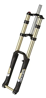 "Zoom 680DH AMS DH Downhill Mountain Bike Fork 1-1/8"" 180mm 20mm Axle 26"" (Black)"