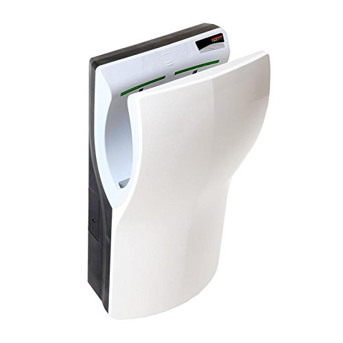 Saniflow Dualflow With the addition of M12A Automatic ABS White Hand Dryer