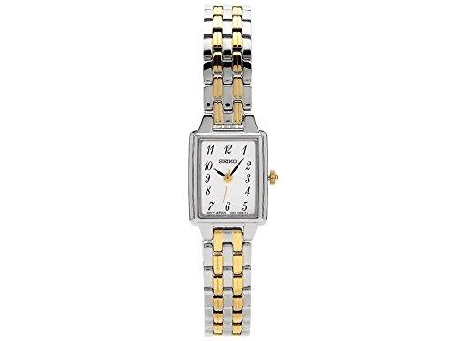 Seiko Reloj Analógico para Mujer de Cuarzo con Correa en Acero Inoxidable SXGL61P9: Amazon.es: Relojes