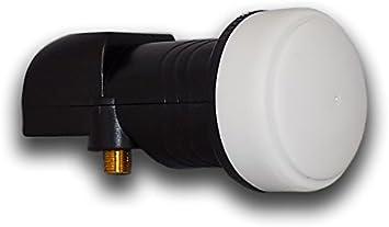 Blazer X1 0.1db Single PLL LNB universal con tecnología sensible PLL 25 MHZ Crystal UHD 3D 1080p HD 4K UHD antena digital satélite