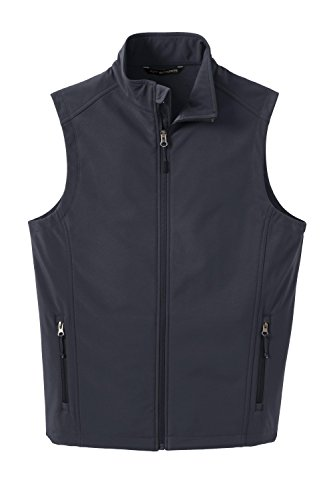 Port Authority Core Soft Shell Vest J325 - Battleship Grey J325 4XL