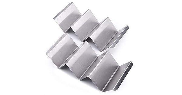 Amazon.com: Soporte para taco de acero inoxidable Gabster ...