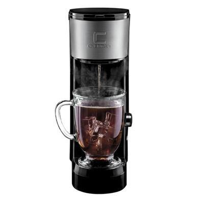 Chefman RJ14-SKG-IR Independiente Totalmente automática Pod coffee machine Negro - Cafetera (Independiente, Máquina de...