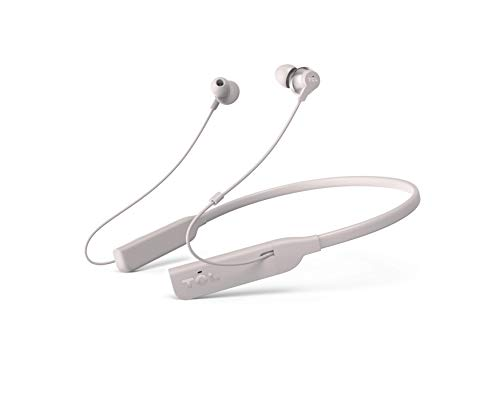 TCL ELIT200NC Wireless In-Ear Earbuds Hi-Res Noise Cancelling Bluetooth Headphones, Cement Gray