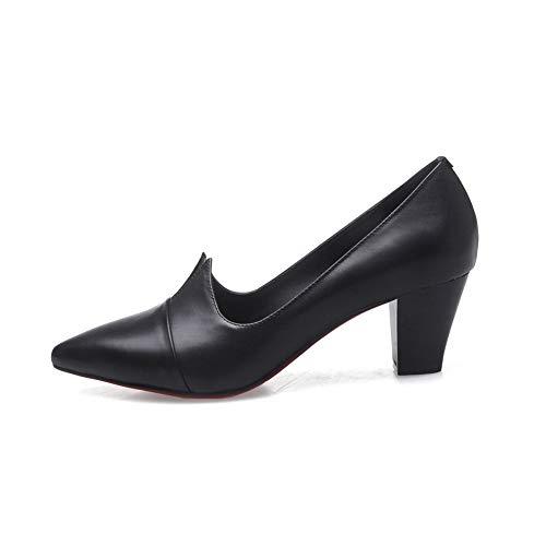 Sandales Balamasa Noir Compensées Noir 35 Femme Apl11241 fBFUq5