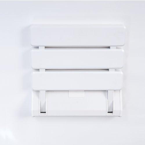 ZNL Duschklappsitz Duschsitz Klappbar Duschhilfe Klappsitz f/ür Wandmontage bis 130kg JCH01