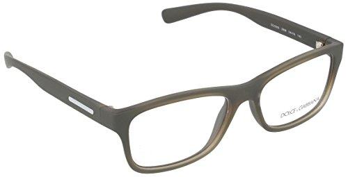 Dolce & Gabbana Montures de lunettes 5005 Young and coloured Pour Homme Matte Black 2898: Semi-Transparent Military Rubber
