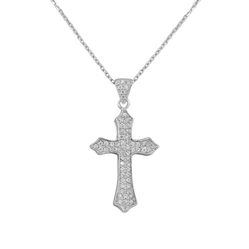 Sterling Classic Religious Pendant Necklace product image