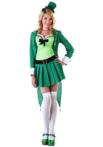 Womens Lucky Leprechaun Costume X-Large Green -
