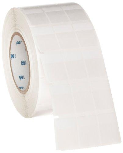 Brady THT-9-427-10 1'' Width x 1.437'' Height, B-427 Self-Laminating Vinyl, Matte Finish White/Translucent Thermal Transfer Printable Label (10000 per Roll) by Brady